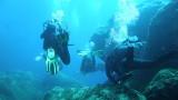 Skały pod (nieistniejącym już) Azure Window – Morze Śródziemne – Gozo – Malta